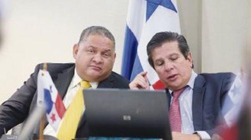 Benicio Robinson y José Luis Varela